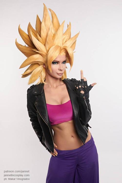 Caulifla from Dragon Ball Cosplay