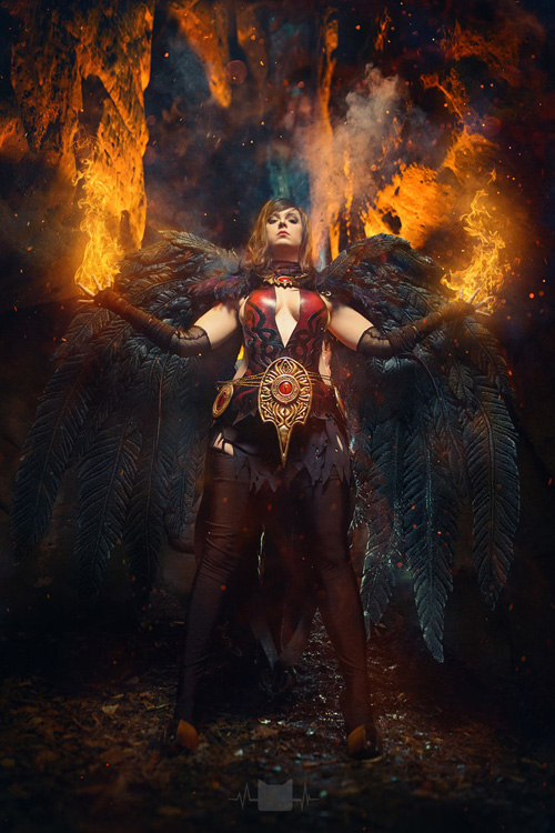 Elementalist from Guild Wars 2 Cosplay
