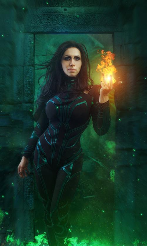 Hela from Thor: Ragnarok Cosplay