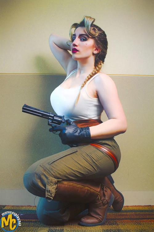 Helga Sinclair from Atlantis Cosplay