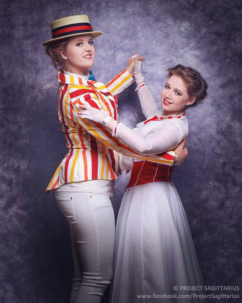 Bert & Mary Poppins Cosplay