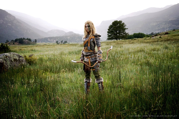 Mjoll the Lioness from Skyrim Cosplay