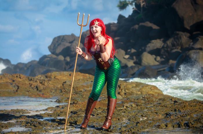 Steampunk Ariel Cosplay