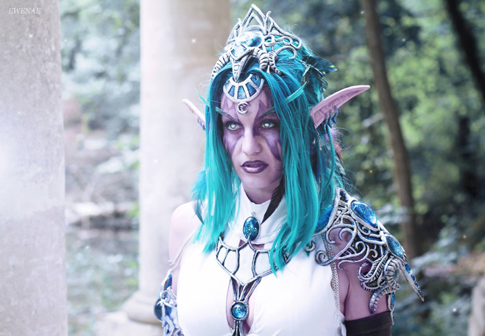 Tyrande Whisperwind from World of Warcraft Cosplay