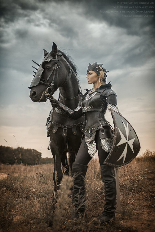Black Knight Fantasy Photoshoot