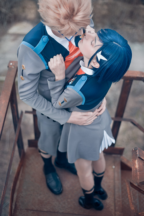 Goro & Ichigo from Darling in the Franxx Cosplay