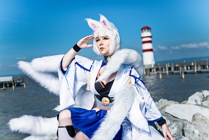 Kaga from Azur Lane Cosplay