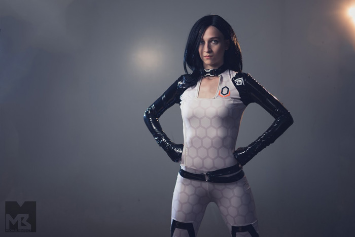 Miranda Lawson from Mass Effect Cosplay