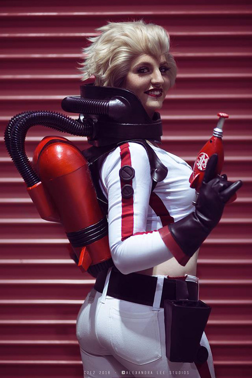 Nuka Cola Girl from Fallout Cosplay
