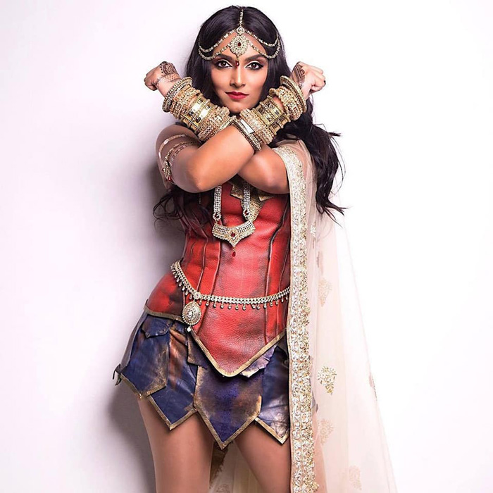 South Asian Wonder Woman Cosplay