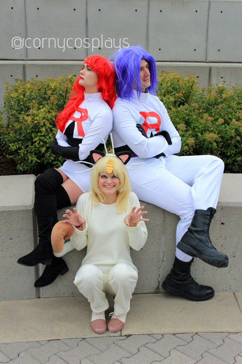 Team Rocket Group Cosplay