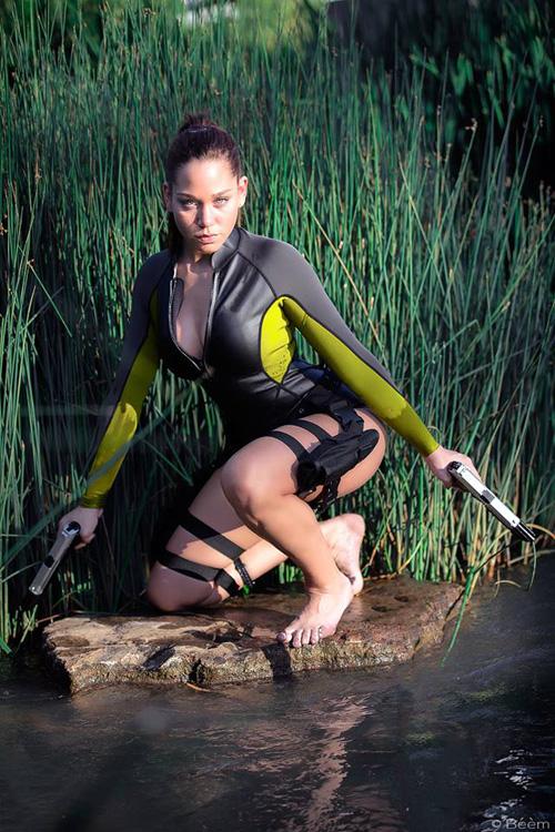 Wetsuit Lara Croft Cosplay