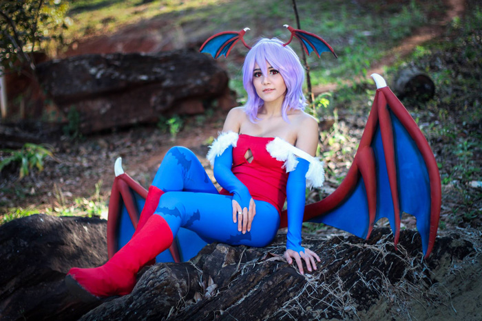 Lilith from Darkstalkers Cosplay