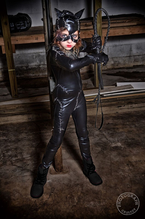 Little Catwoman Cosplay