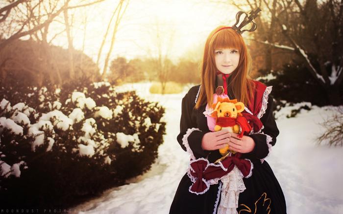 Maria Ushiromiya from Umineko: When They Cry Cosplay
