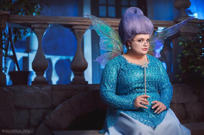 Fairy Godmother from Shrek 2 Cosplay