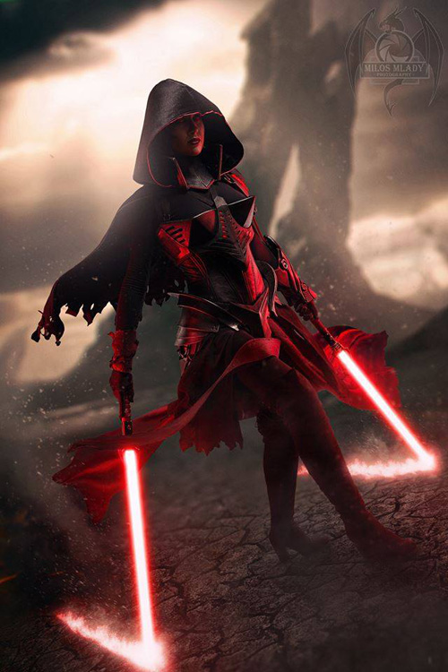 Sith Lord Star Wars Cosplay