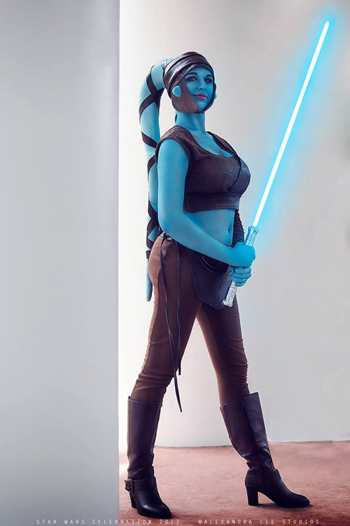 Aayla Secura from Star Wars Cosplay