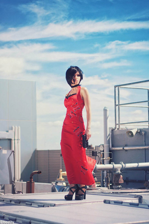 Ada Wong from Resident Evil 4 Cosplay