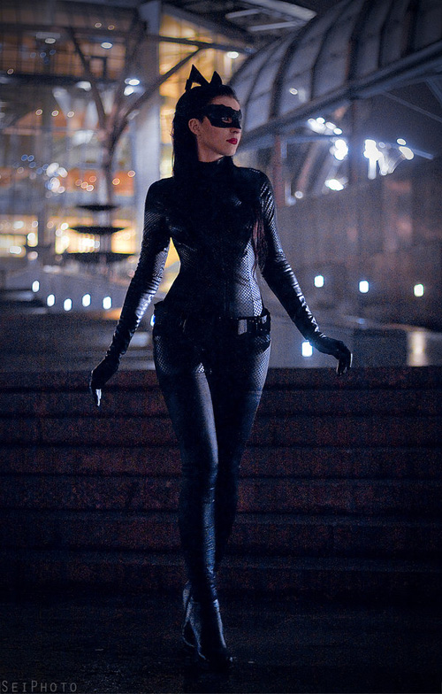The Dark Knight Rises Catwoman Cosplay