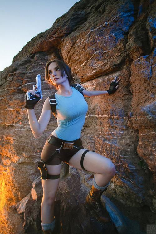 Lara Croft Cosplay By Octokuro Serviporno 1