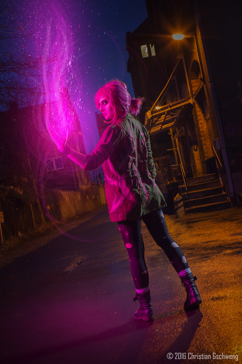 fetch from infamous second son cosplay