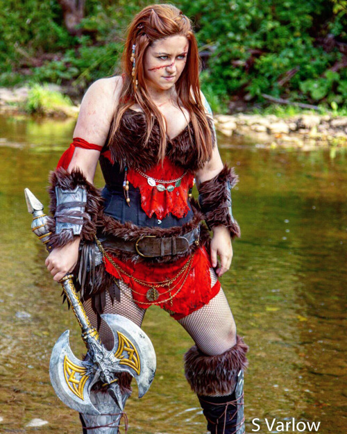 Barbarian Original Character Cosplay