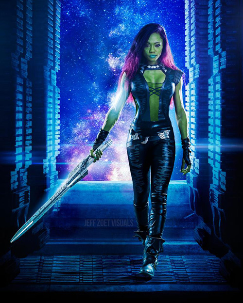 Gamora from Guardians of the Galaxy Cosplay