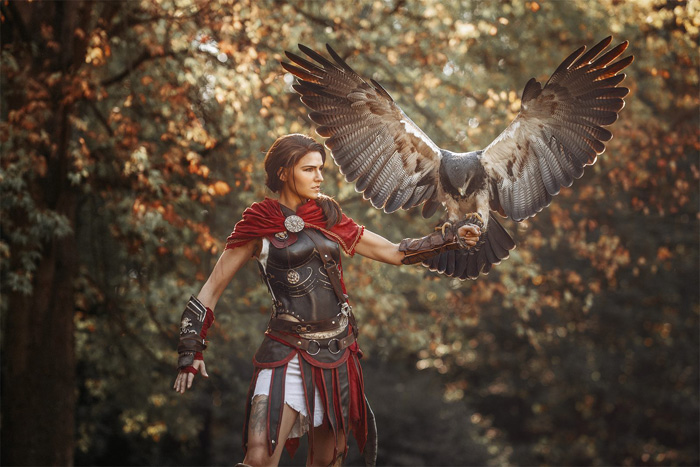 Kassandra from Assassins Creed: Odyssey Cosplay
