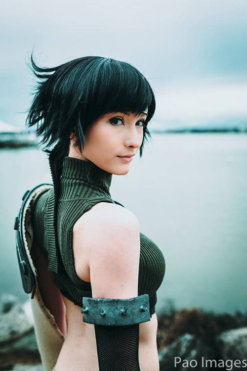 Yuffie from Final Fantasy VII Cosplay