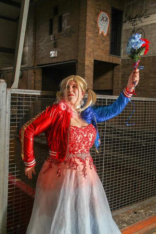 Bride Harley Quinn Cosplay