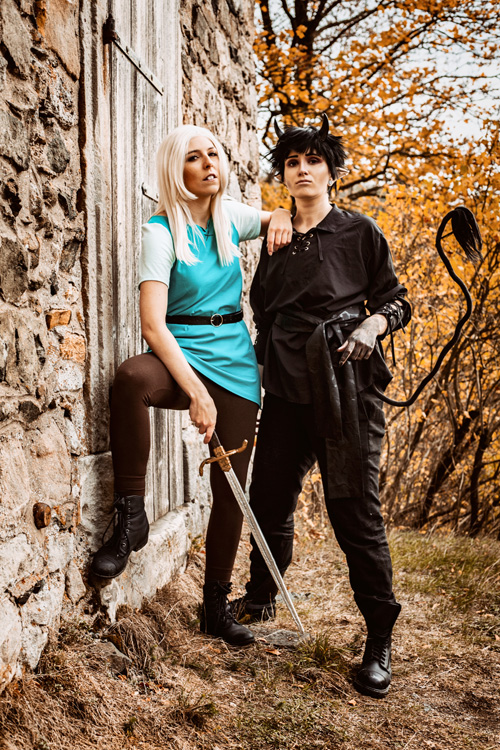 Bean & Luci from Disenchantment Cosplay