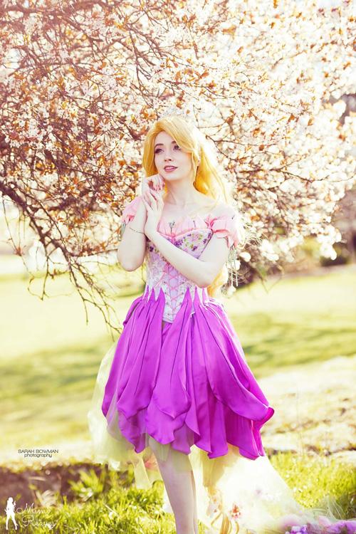 Fairytale Rapunzel Cosplay