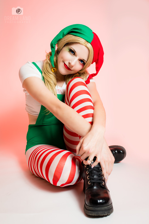 Elf Harley Quinn Cosplay