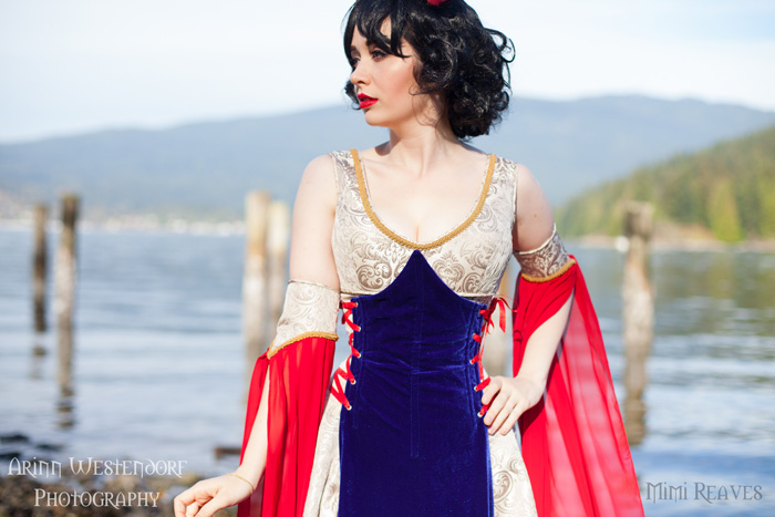 Medieval Snow White Cosplay