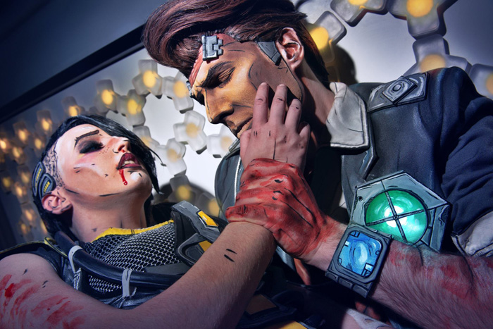 Angel and Handsome Jack from Borderlands 2�Cosplay
