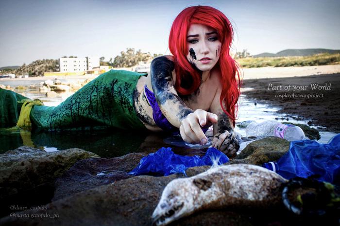 Ariel Cosplay4Ocean Project