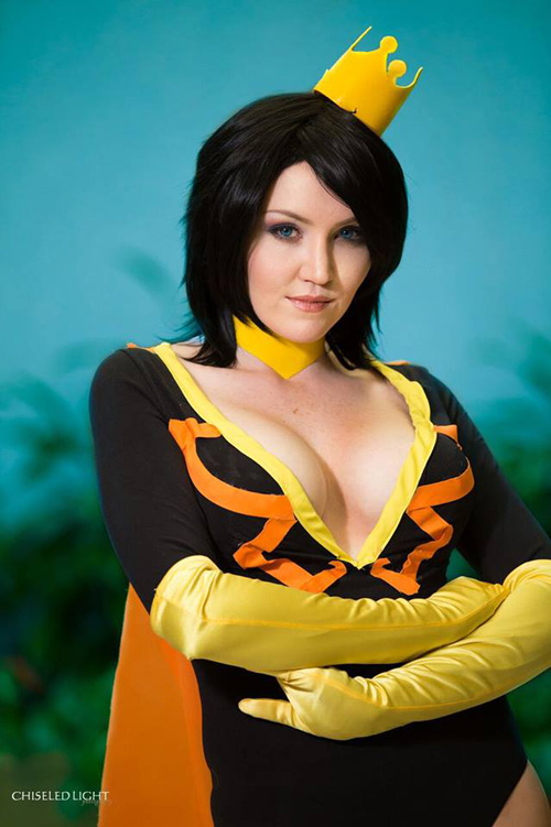 Dr. Mrs. The Monarch from The Venture Bros. Cosplay