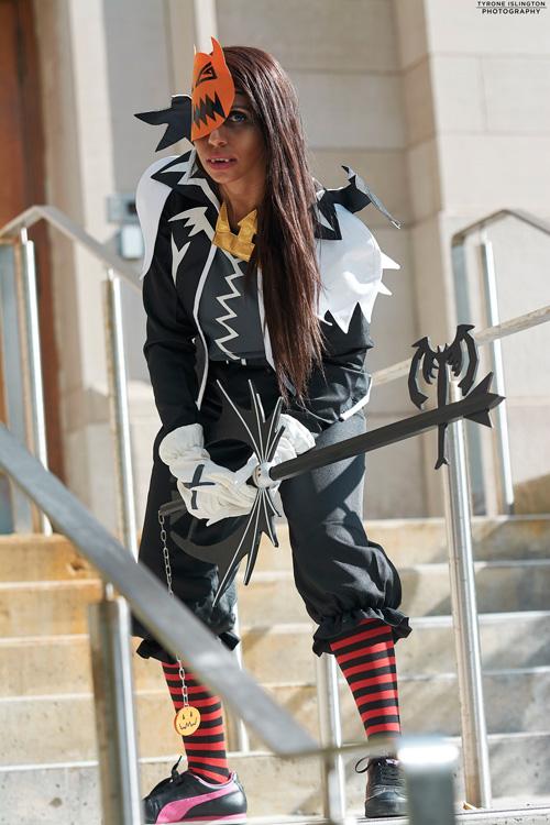 Halloween Town Sora from Kingdom Hearts II Cosplay