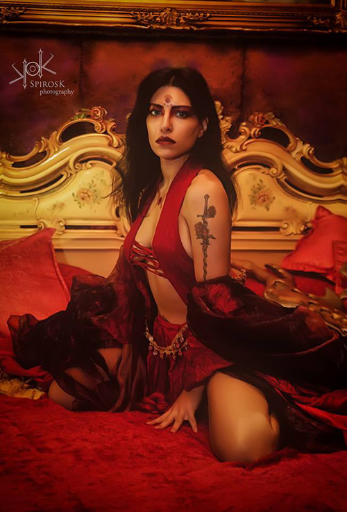Kaileena from Prince of Persia Cosplay