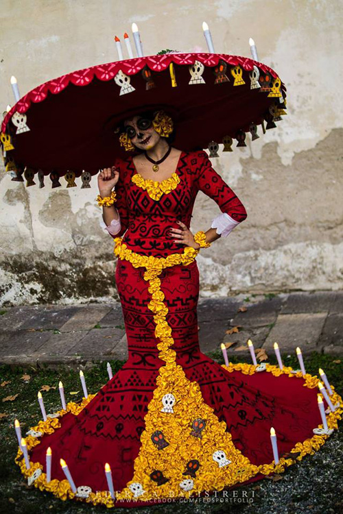 La Muerte from The Book of Life Cosplay