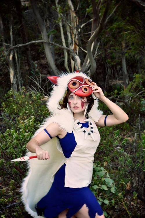 princess mononoke san cosplay
