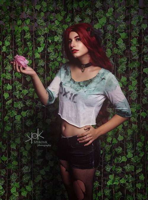 Suicide Squad Poison Ivy Cosplay