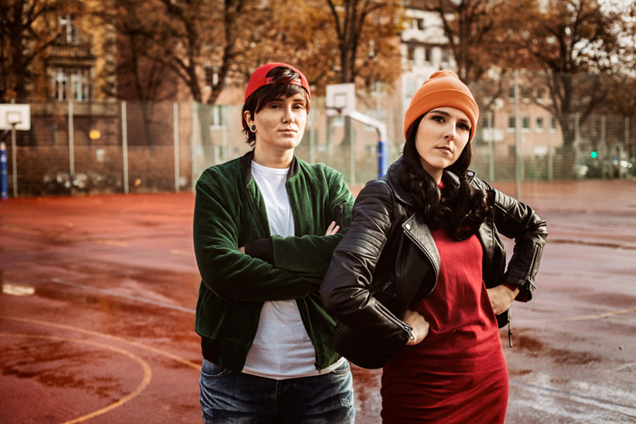 TJ and Spinelli from Recess Cosplay