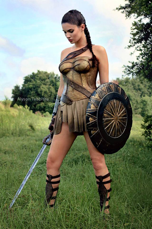 Themyscira Wonder Woman Cosplay