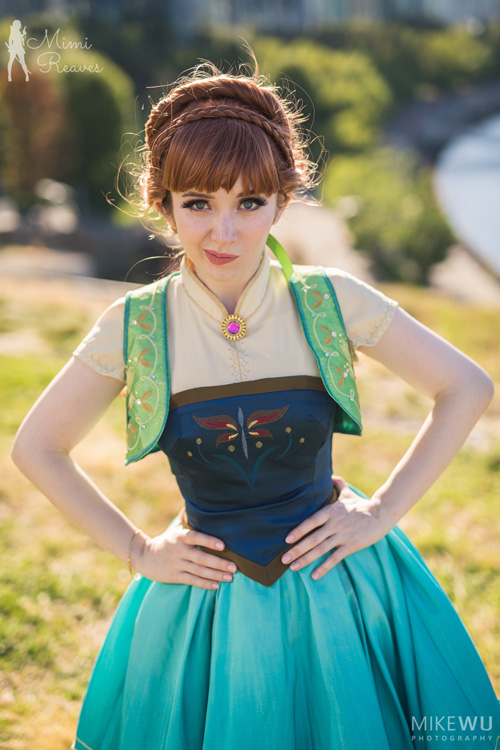 Anna from Frozen Fever Cosplay