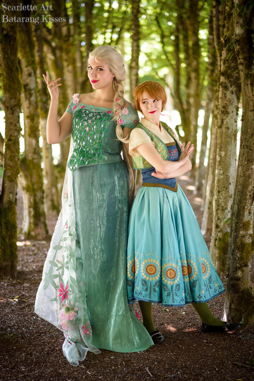 Disney Princesses Group Cosplay