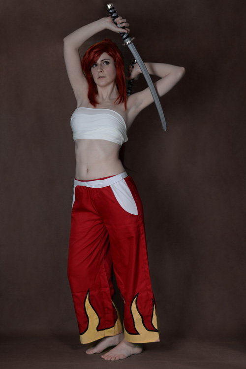 Flame Erza from Fairy Tail Cosplay