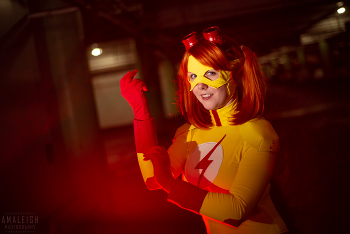 Kid Flash from Young Justice Cosplay