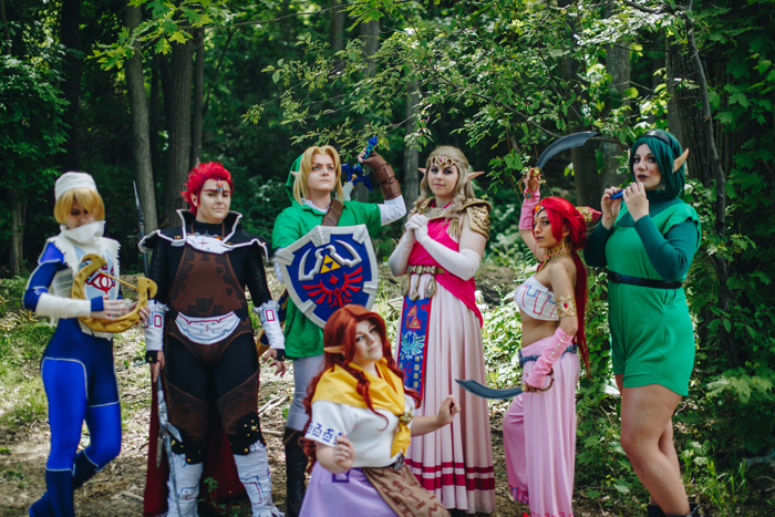 The Legend of Zelda: Ocarina of Time Group Cosplay